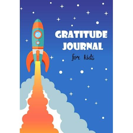 I Am Grateful: Gratitude Journal for Kids: Boy Space Rocket 90 Days Daily Writing Today I Am Grateful For... Children Happiness Notebook - Am 90 Halloween