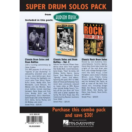 Super Classic Drum Pack (DVD)