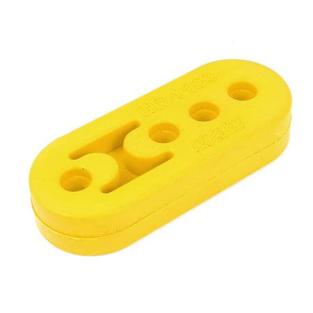 Hanger Rubber Bushings Yellow 11mm-8mm Hole for Exhaust (Muffler Hanger Rubber)