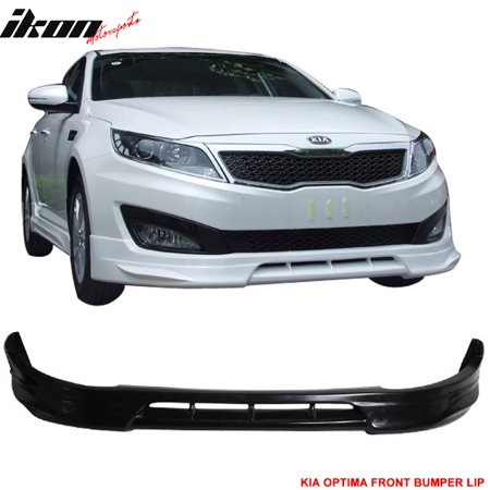 Lip Mount Spoiler - Fits 10-13 Kia Optima K5 Urethane Front Bumper Lip Spoiler Body Kit