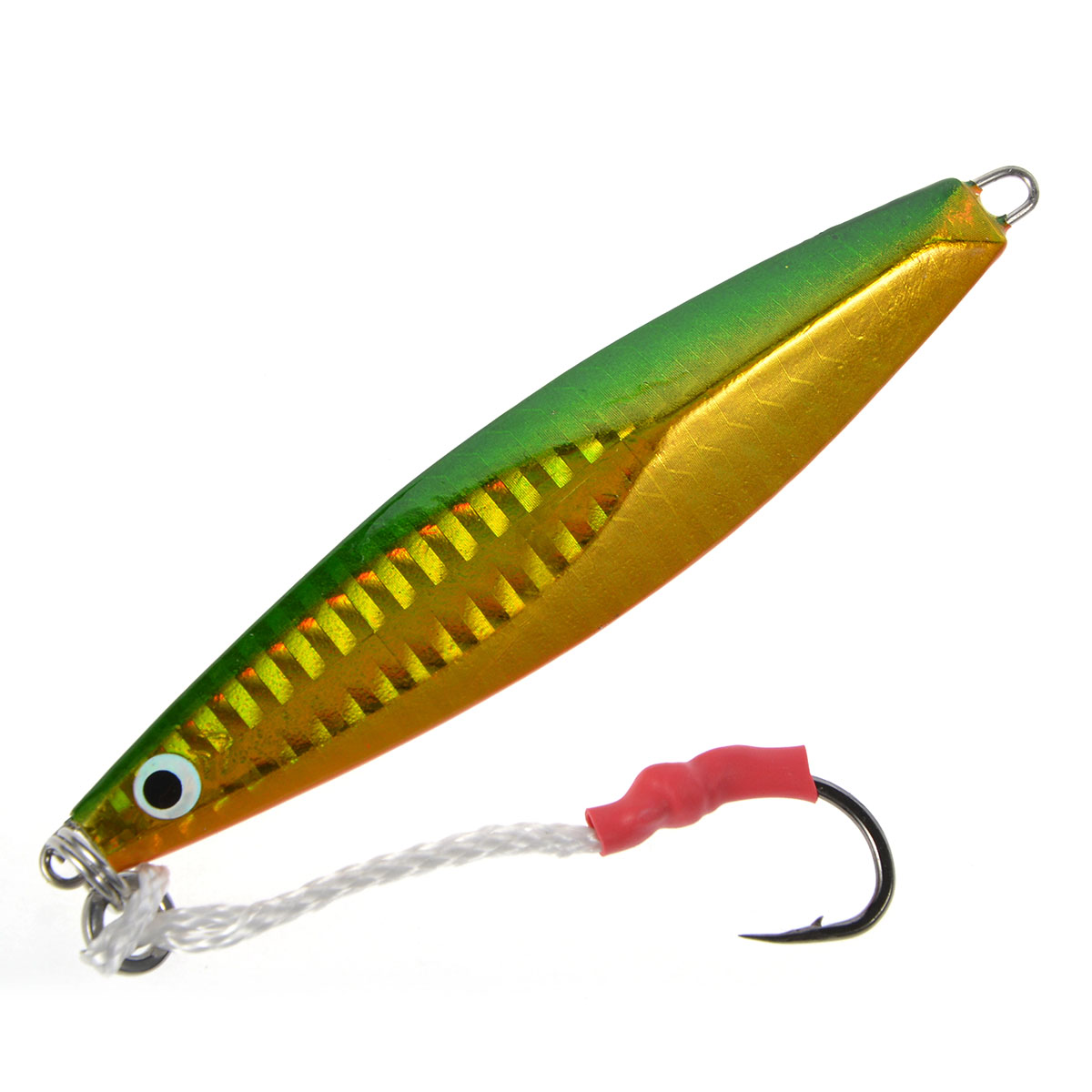 Deep Sea Fishing Lures Minnow Lure (Butterfly Jig) By Cabo Jerkbait Lead Lure (Yellow) 3.46-Inch