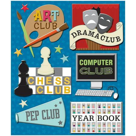 Club Medley (School Clubs Medley Stickers)