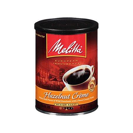 Melitta Hazelnut Coffee (Hazelnut Crme Can Coffee, 11 oz)
