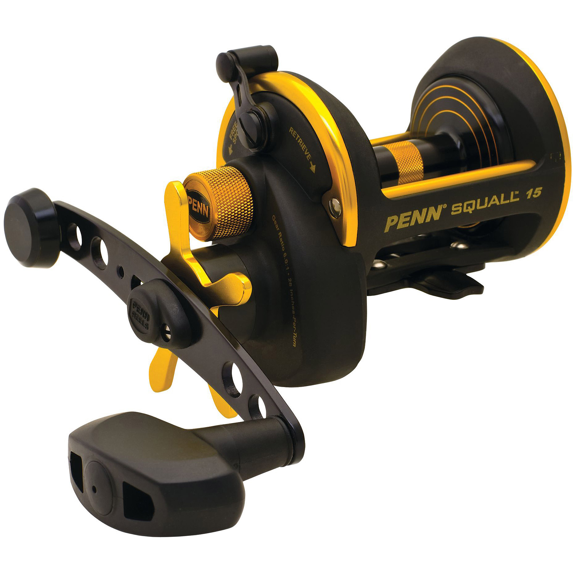 penn squall star drag conventional reel - walmart, Reel Combo