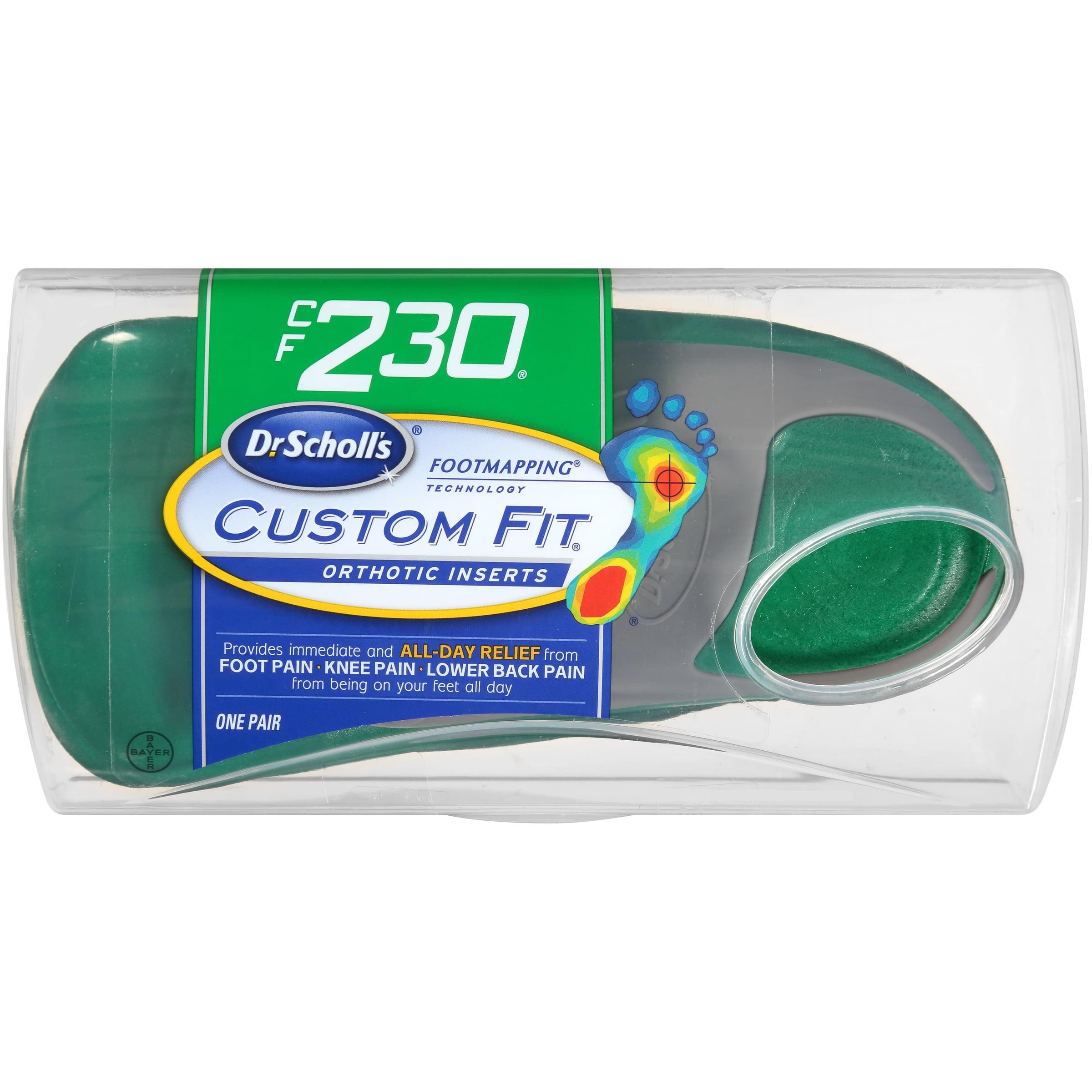 Dr. Scholl's® Custom Fit® Orthotics CF230, 1 Pair