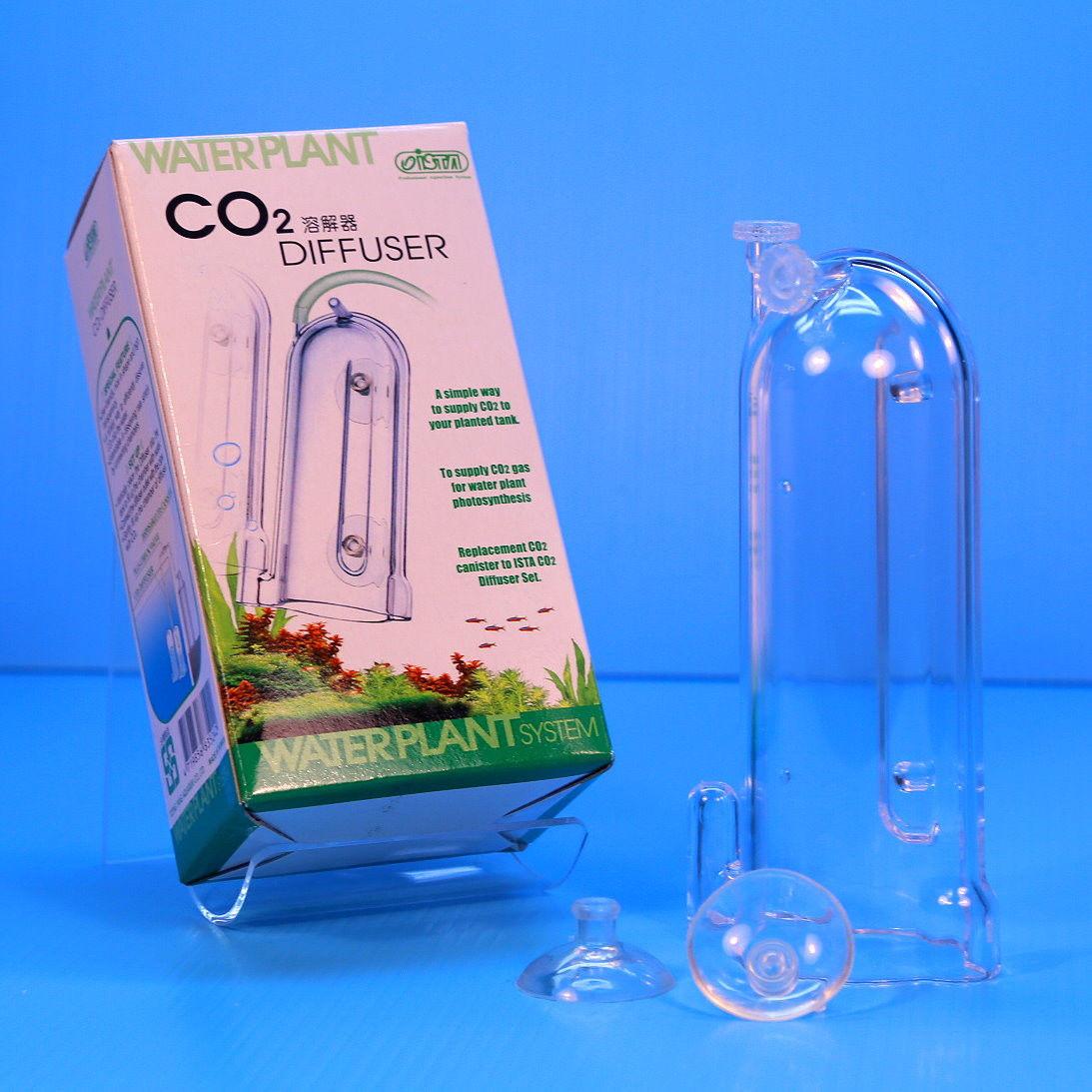 ISTA Aquarium CO2 diffuser for DIY yeast bottles disposable co2 cartridge plant tank