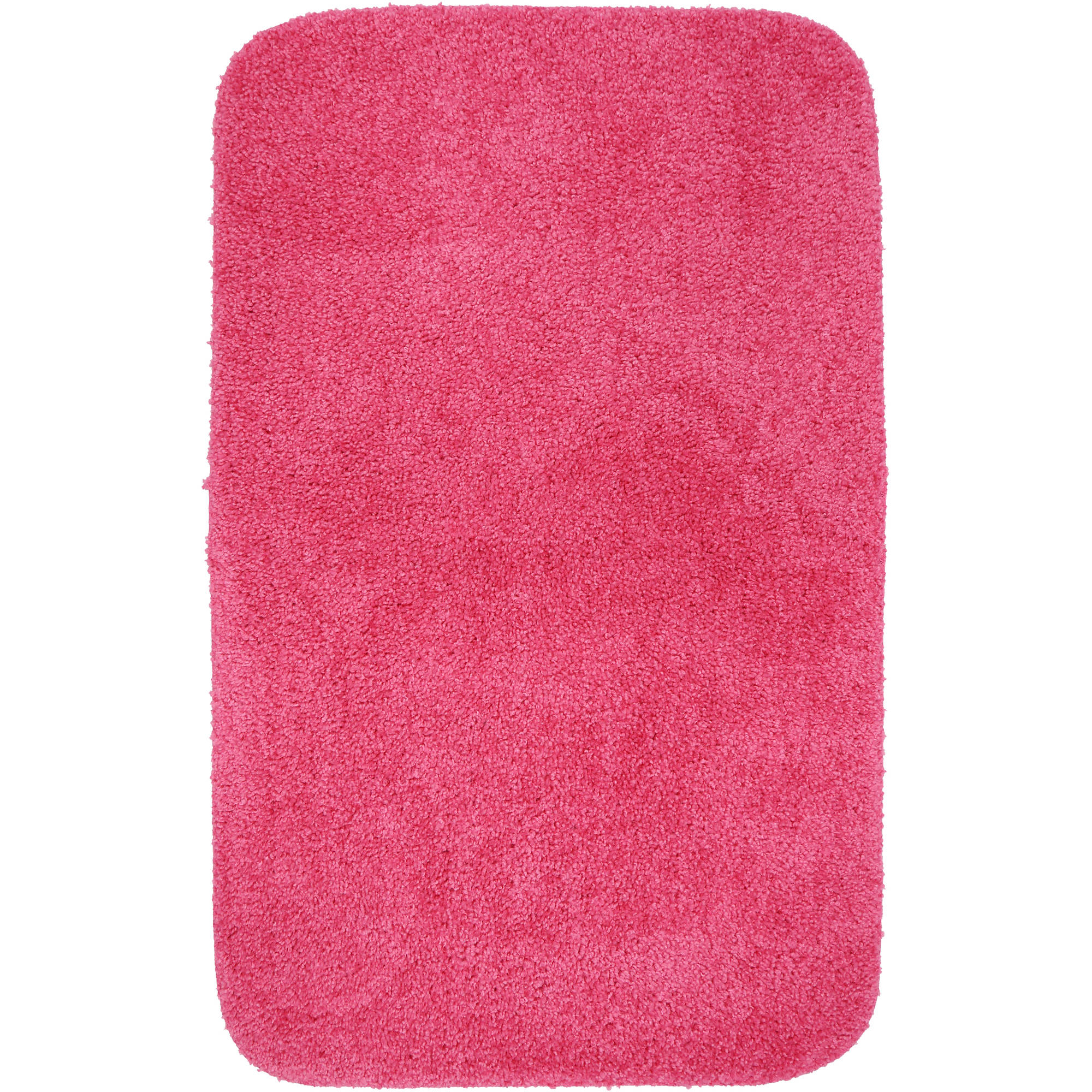 mainstays basic bath rug, solid - walmart