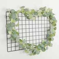 Topumt Artificial Vines Hanging Garland Greenery Plant for Wedding Christmas Holiday