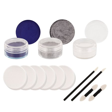 WOLF PACK Football Basketball FACE PAINTING SET - Balls In Your Face