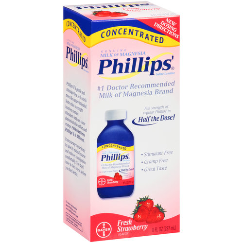 Phillips' Strawberry Concentrated Milk of Magnesia, 8 fl oz