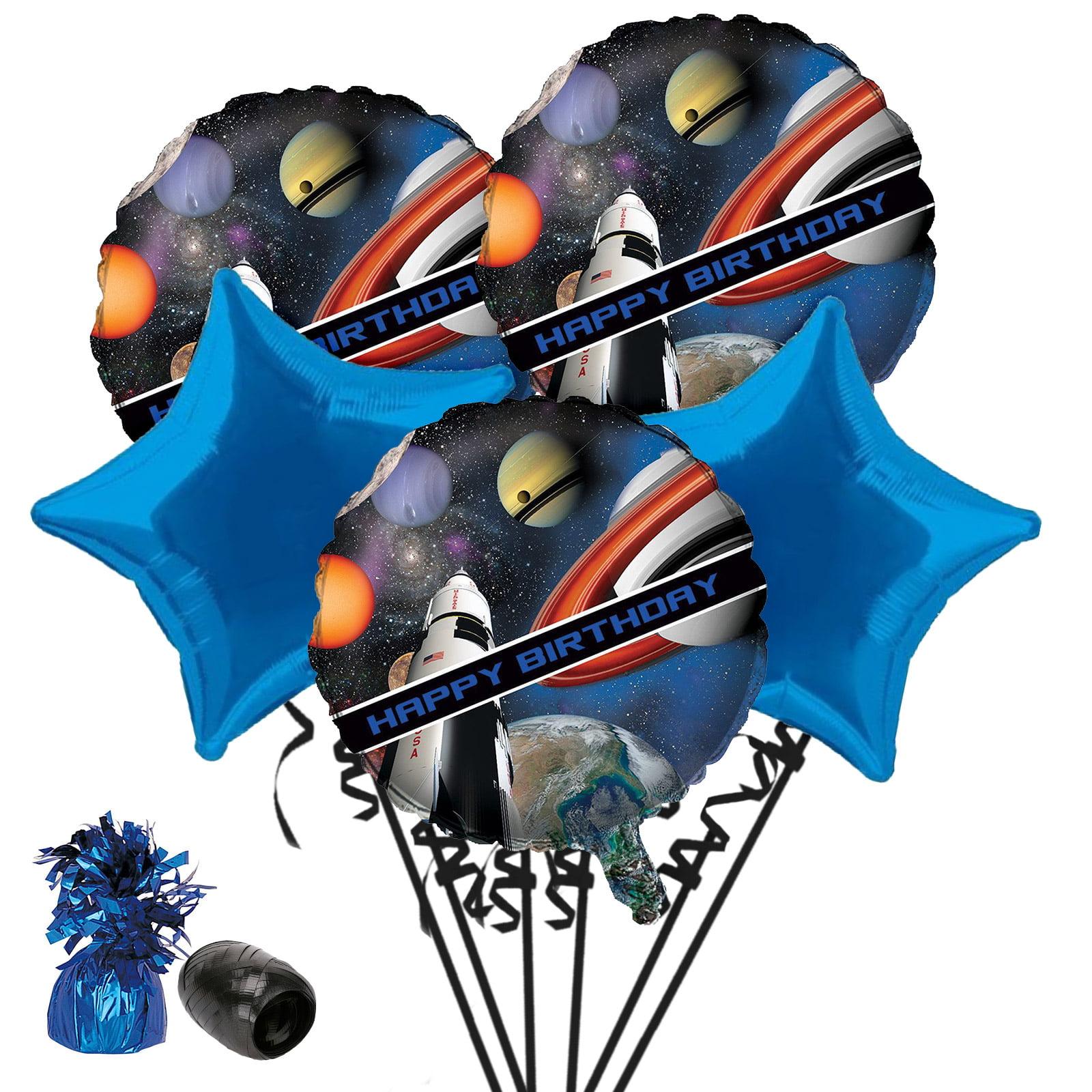 Space Blast Birthday Balloon Bouquet Kit