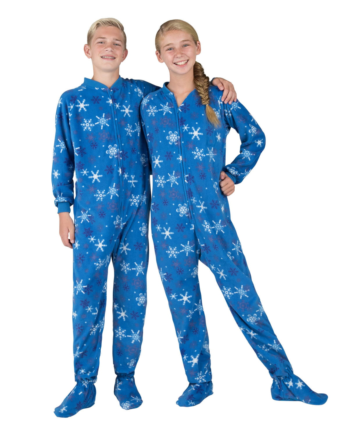 42cd3da44 Footed Pajamas - Footed Pajamas - Its A Snow Day Kids Fleece Onesie ...