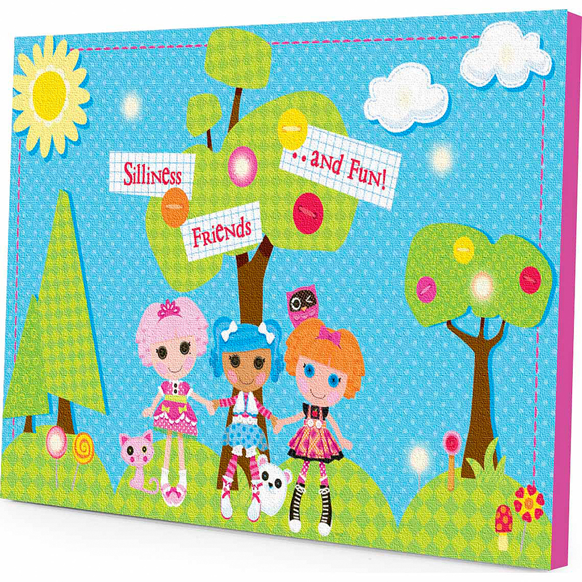 Lalaloopsy LED Light Up Canvas Wall Art