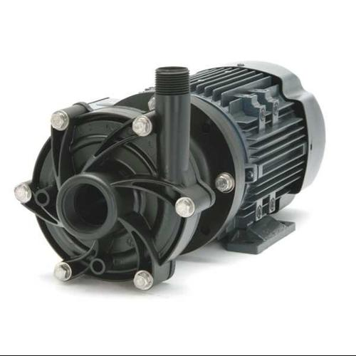 "FINISH THOMPSON 3/4 HP PVDF Magnetic Drive Pump 208-230/460V 1-1/2"" FNPT, DB8V-T-M205"