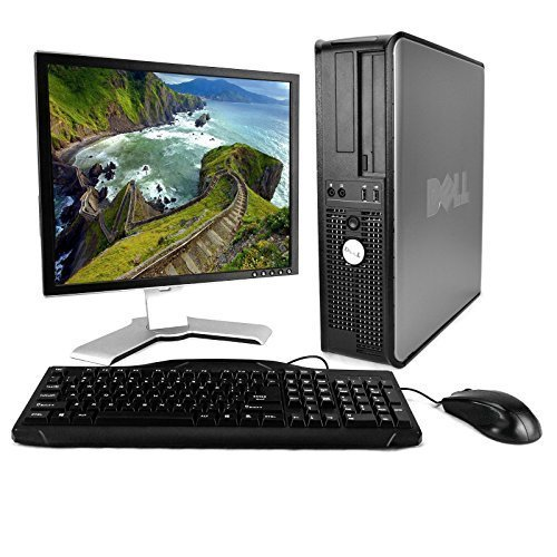 Dell OptiPlex Desktop Complete Computer Package with Wind...