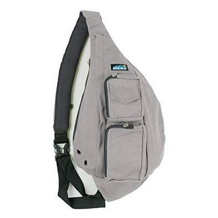 Meru - Meru Sling Backpack Bag Small Single Strap Crossbody Pack for Women  and Men Gray - Walmart.com 12b7efeac3ee1