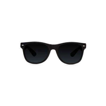 Gravity Shades Classic Edge Style Sunglasses, Black Tint - image 1 of 2