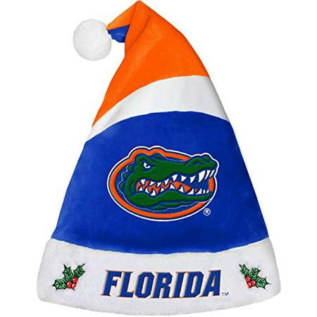 NCAA Florida Gators Team Color Santa Hat