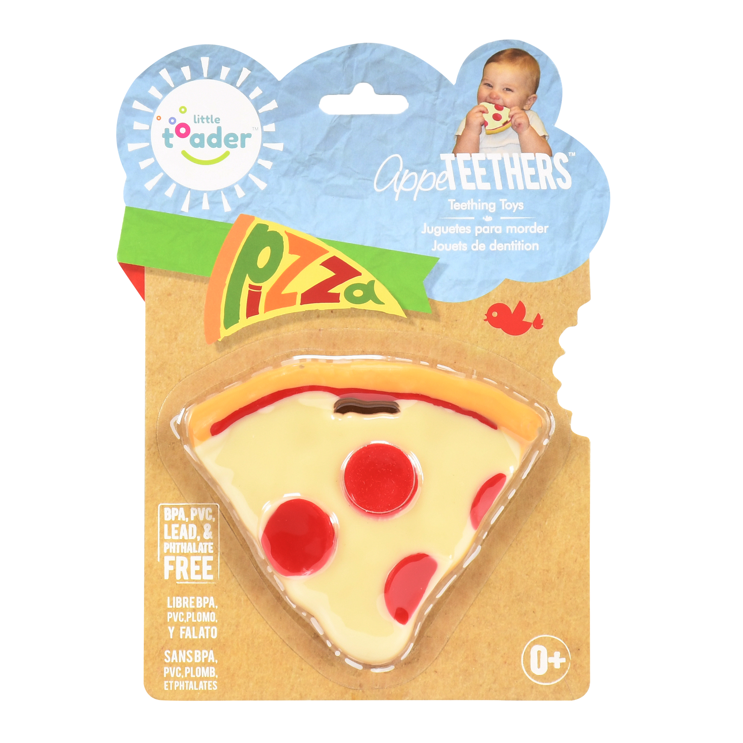 Little Toader AppeTEETHERS Teething Toys- Pizza