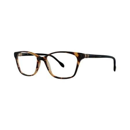 (Lilly Pulitzer LINDLEY Eyeglasses 50 Tortoise Navy)