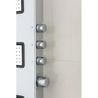 ANZZI Leopard Thermostatic Rain Shower Head Shower Panel