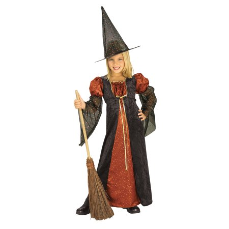Girl's Glitter Witch Costume Rubies 881122