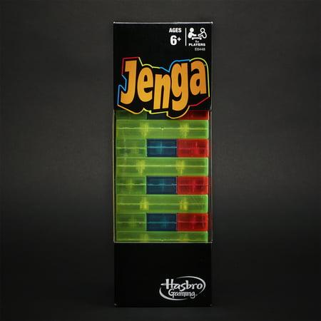 Jenga Neon Pop Building Blocks Tumbling Tower (Best Team Building Games)
