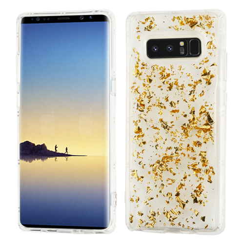 For Samsung Galaxy Note 8 Krystal Gel Bling Silicone Candy Skin Case Cover