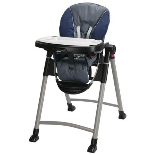 Graco contempo high chair - Graco Contempo Space Saver High Chair Midnight Walmart Com