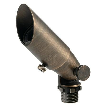 Kichler Brass Outdoor Accent Light - Kichler Mission Path Light