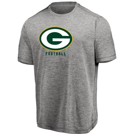 Green Bay Packers Table (Men's Majestic Heathered Gray Green Bay Packers Proven Winner Synthetic TX3 Cool Fabric)
