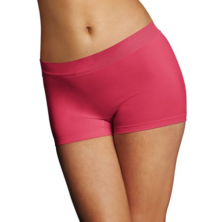 Seamless Boyshort Pantie (Womens Seamless Tailored Boyshort Panty )