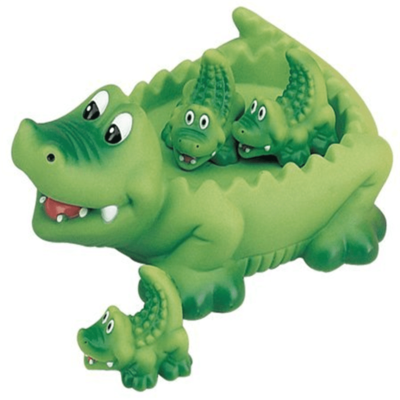 Alligator Family Bath Toy Floating Fun! by D%26D Distributing