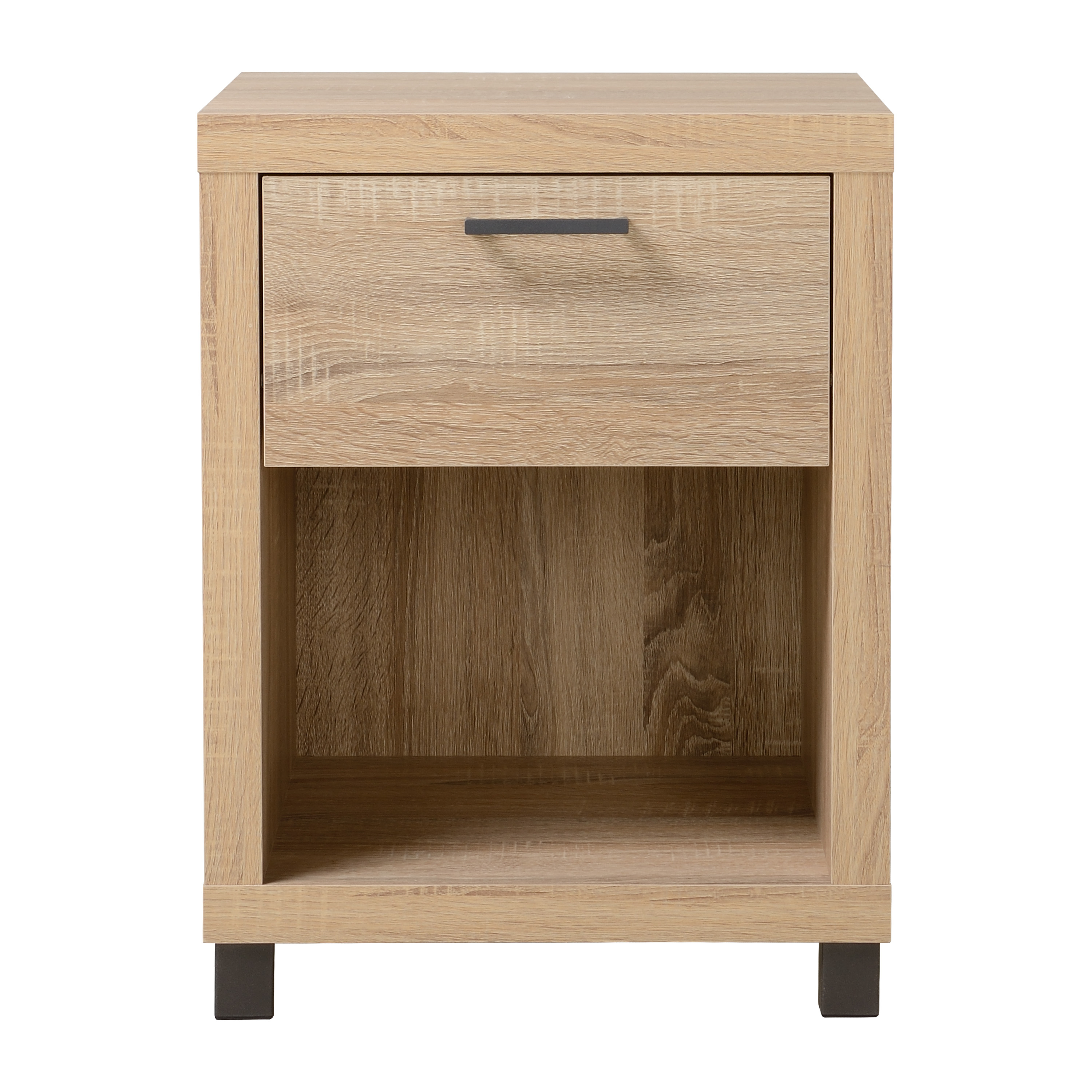 Mainstays Madison Collection 1 Drawer Nightstand, Multiple Colors by HOMESTAR NORTH AMERICA LLC