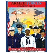 Armed Forces : Coloring Book