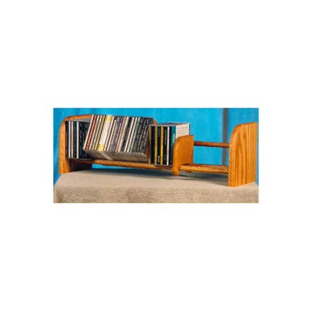 1 Row Dowel CD Rack (Honey Oak)