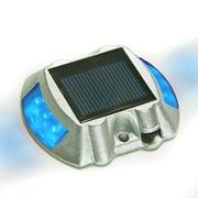 36 X Solar Powered Blue LED Boat Dock Road Stud Lights