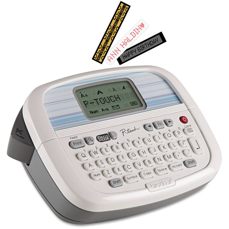Brother P-Touch PT-90 Simply Stylish Personal Labeler