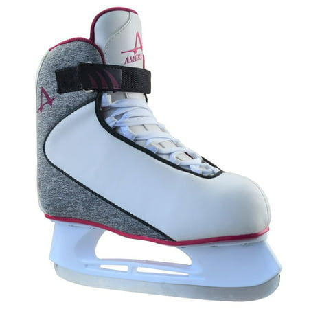- American Athletic Women's Soft Boot Ice Hockey Skate