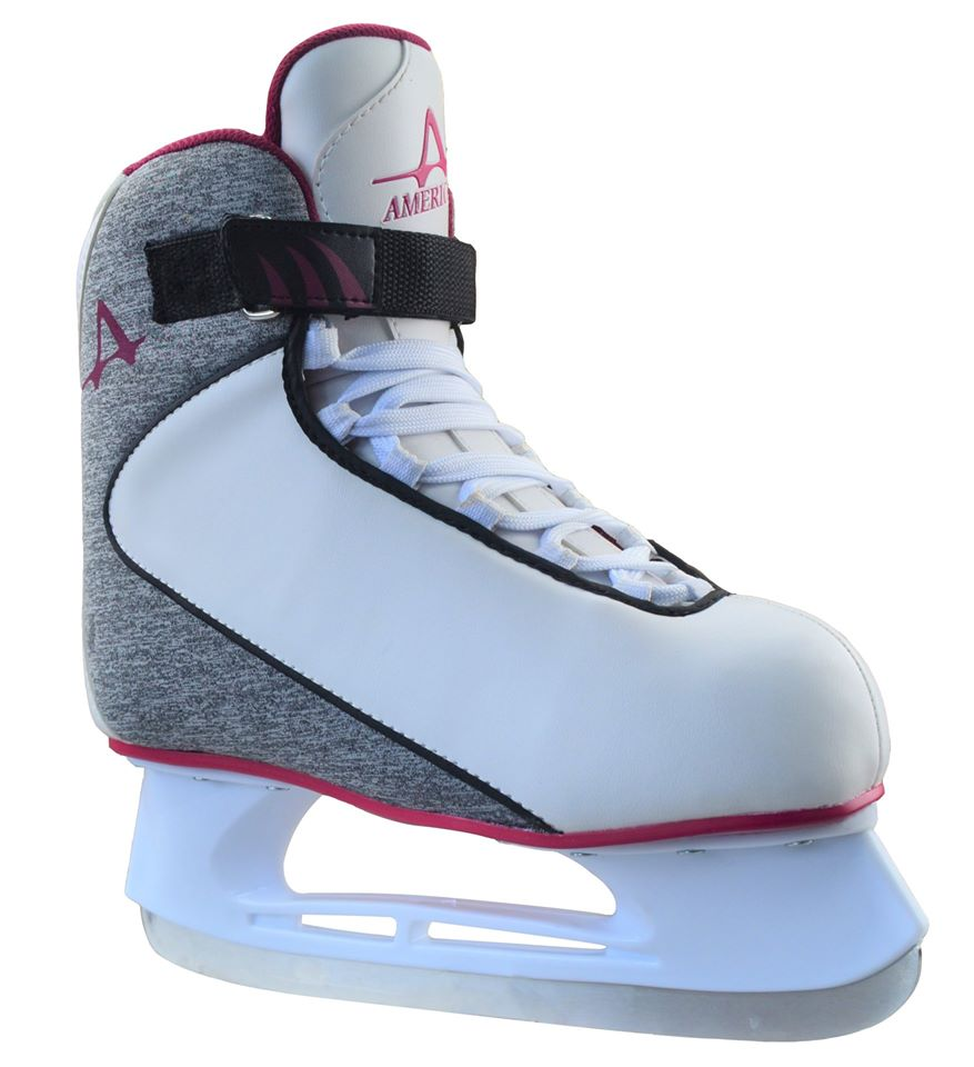 American Athletic Women's Soft Boot Ice Hockey Skate