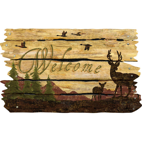 "Masterpiece ""Deer Season"" Doormat"