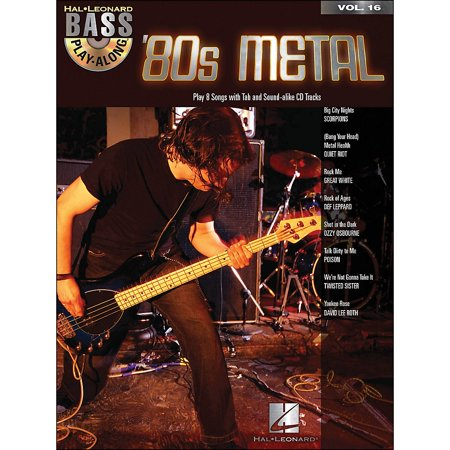Hal Leonard 80s Metal - Hal Leonard 80s Metal Bass Play-Along Volume 16 Book/CD