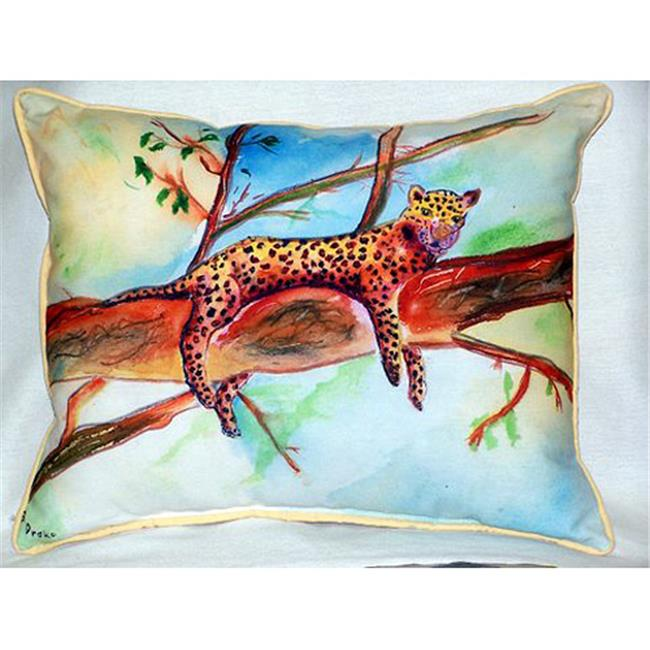 Betsy Drake HJ283 Leopard Large Indoor & Outdoor Pillow 16 x 20 - image 1 of 1