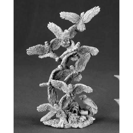 Murder of Crows Miniature 25mm Heroic Scale Dark Heaven Legends Reaper Miniatures ()
