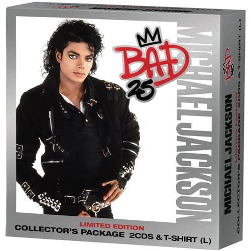 Bad 25th Anniversary (Walmart Exclusive) (2CD + T-Shirt)