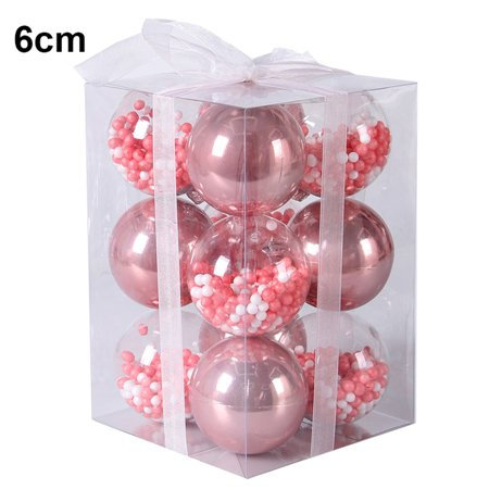 6cm/8cm/10cm Christmas Tree Decor Ball Bauble Xmas Party Hanging Ball Ornament decorations for Home Christmas decorations Gift - image 2 of 2