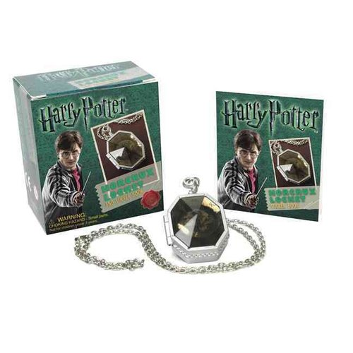 Harry Potter Locket Horcrux Kit and Sticker Book