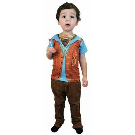Hairy Chest Costume (Costumes for all Occasions FR115360SM Hairy Chest Youth)