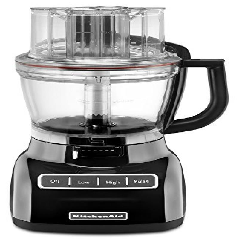 KitchenAid KFP1333OB 13-Cup Food Processor with ExactSlice System - Onyx Black
