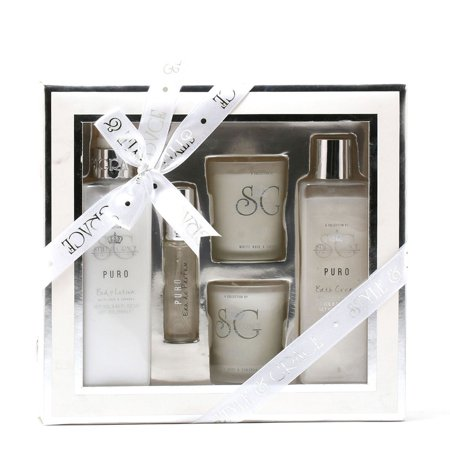 Grace Gift Set - Rainbow Cosmetics Style & Grace Puro Tranquil Bath Experience Gift Set
